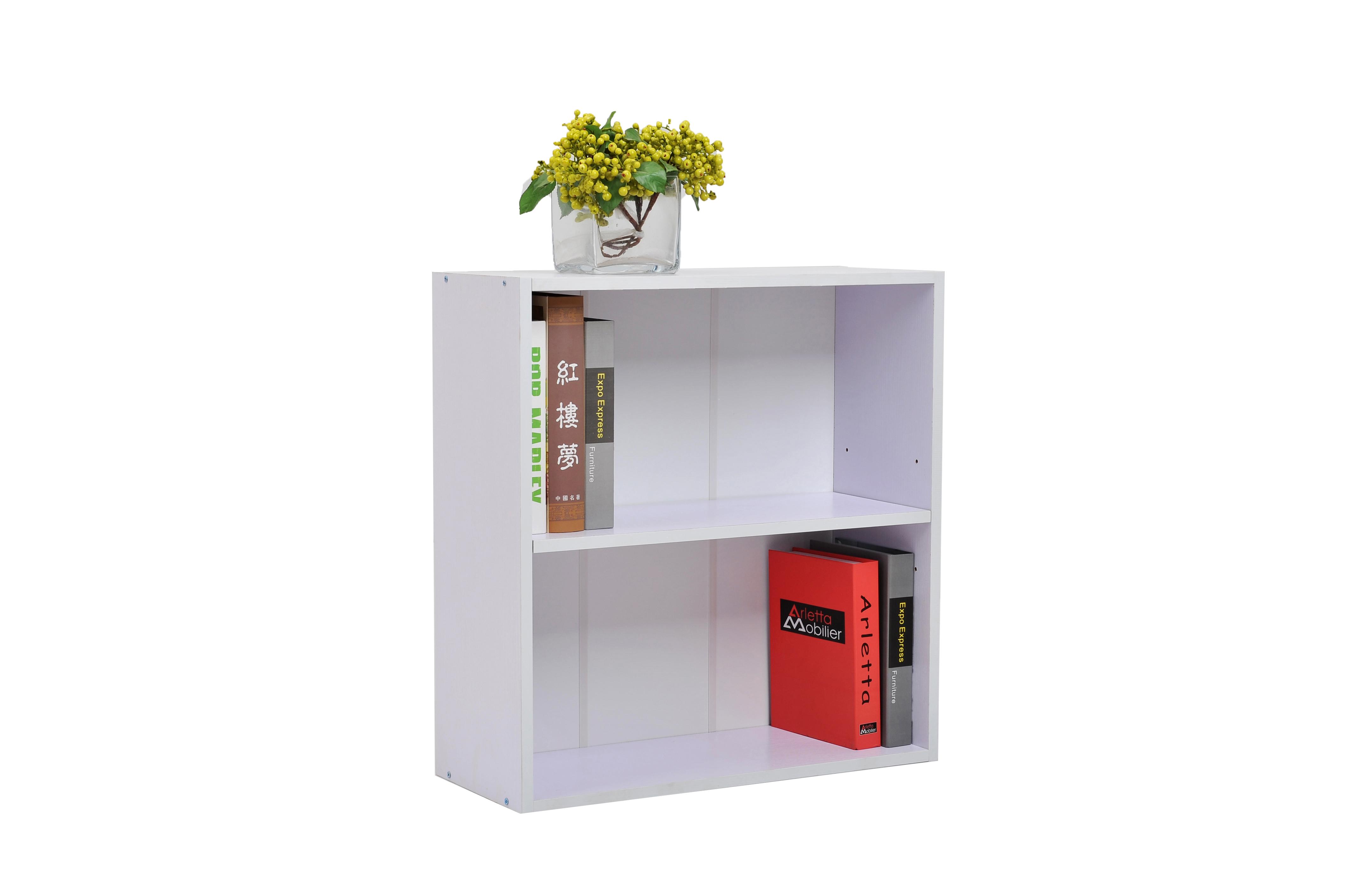 2-shelf-bookcasewhite